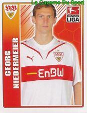 379 GEORG NIEDERMEIER GERMANY VfB STUTTGART STICKER TOPPS BUNDESLIGA 2010