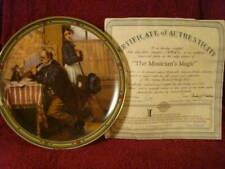 """Knowles Limited Edition  """"The Magician's Magic"""" Norman Rockwell Plate (#19978C)"""