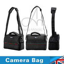 Camera Nylon Waterproof UK Handbag Case Canon Shoulder for Sony Nikon Shockproof