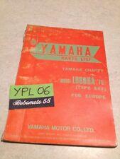 Yamaha parts list Chappy LB80IIA 592 75 LB80 2A LB 8 catalogue pièces détachées