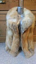 A77new design real Canadian goldenvfox fur waistcoat