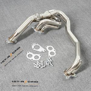 Turbo Exhaust Header Up Pipe For 02-07 Subaru Impreza WRX/WRX Sti 2.0T / 2.5T