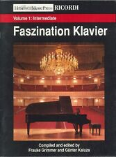 Faszination Klavier Piano Solos Vol 1 Intermediate 1998 Purcell Chopin Beethoven