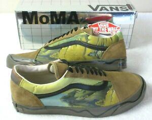 Vans x MoMA Mens Old Skool Twist Salvador Dali Artwork Canvas Shoes Size 8.5 NIB