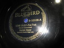 Bluebird 78 Vernon Geyer Hammond electric Organ Solos b-10108