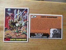 1994 TOPPS MARS ATTACKS ARCHIVES UNPUBLISHED CARD #66 SIGNED HERB TRIMPE ARTWORK