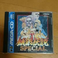 Garou Densetsu Special Fatal Fury Special Mega CD Used Japan Boxed Tested 1995