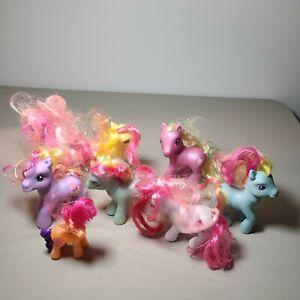 Lot of 8 My Little Pony Ponies Hong Kong Hasbro 2006/2007