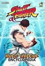 Street Fighter World Warrior Encyclopedia Art Book Manga Anime MINT
