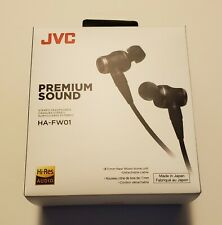 JVC HA-FW01 IEM Earphones Class S Wood Series - ships from US