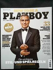 HOW TO BE A PLAYBOY - 04/2012 - George Clooney on cover