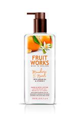 Mandarine & Neroli Bodylotion 500ml Körper Creme Pump Spender Feuchtigkeitscreme
