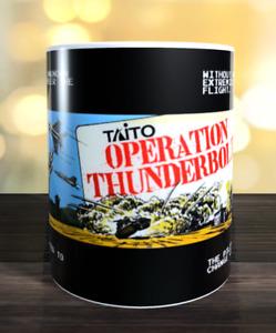 Operation Thunderbolt retro arcade game Marquee Mug