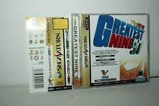 Pro Yakyuu Greatest Nine 97 OTTIMO STATO SEGA SATURN ED JAPAN NTSC/J VBC 37959