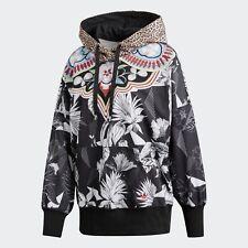 nwt~Adidas The Farm PASSINHO HOODY Sweat shirt Hooded Top firebird~Womens sz Lrg