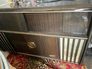 BEAUTIFUL 1960S BLAUPUNKT STEREO RADIOGRAM WITH COCKTAIL CABINET
