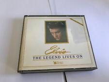 READER'S DIGEST ELVIS - THE LEGEND LIVES ON 3-DISC CD BOX SET MINT/EX W BKLT