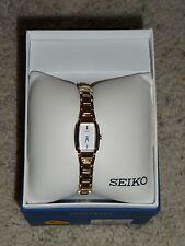 Hard-to-find Seiko Ladies Dress Watch Gold-tone SUJ632, NIB