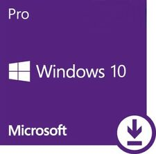 Windows 10 Professional Pro 32/64 BIT Licenza Full Retail ESD