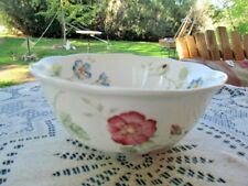 """LENOX BUTTERFLY MEADOW  COUPE RICE OR SOUP BOWL  7 1/4"""" X 3""""H"""