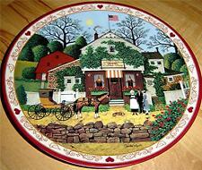 Charles Wysocki, Hometown Memories, Small Talk At Birkie's Perch Plate