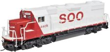 HO Scale - ATLAS TRAINMAN SILVER 10 001 755 SOO LINE GP38-2 # 4405 DCC Ready