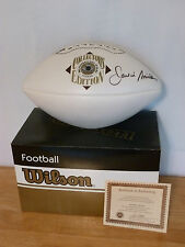 Jackie Smith  Hand Signed Wilson HOF Football NFL Cardinals