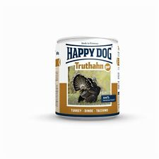 Happy Dog Nassfutter Dosen Truthahn Pur 6x800g