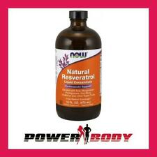 NOW Foods - Natural Resveratrol, Liquid Concentrate - 473 ml.
