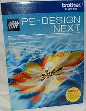 Brother PED PE Design Next  Embroidery Software Upgrade