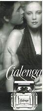 """Publicité Advertising 1978 Le Parfum """"Cialenga"""" par Balenciaga"""