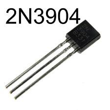 100Pcs 2N3904 TO-92 NPN General Purpose Transistor NTE123AP + USA Free Shipping