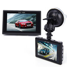 "FHD 1080P  Dash Cam Mini Dvr Car Detector 3"" Video Recorder Vehicle Camara  B9B"