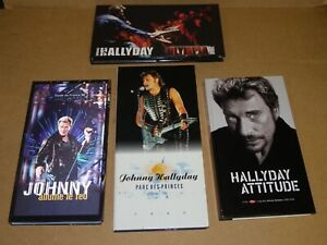 JOHNNY HALLYDAY 4 COFFRETS