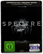 SPECTRE 2-DISC BLU-RAY STEELBOOK NEU & OVP SEALED JAMES BOND 007