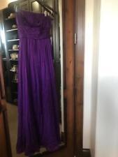 BCBG strapless maxi dress, size 6 EUC