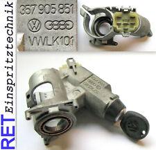 Zündschloss Lenkradschloss 357905851 + Schlüssel VW Golf Polo Scirocco original