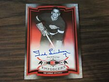 2006-07 Parkhurst Ted Lindsay Autograph / Signed Card Detroit Red Wings (B7)