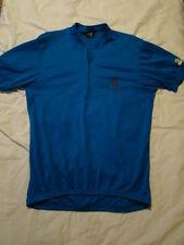 48dedf21a Adult CANARI cycling biking riding jersey shirt ~ Size XL ~ Blue ~ EUC 3  pocket