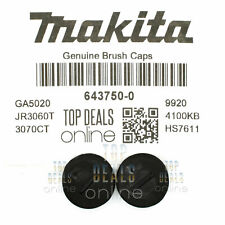 Genuine Makita 643750-0 Carbon Brush Caps 5704R 5703R 9227CB HR3000C HM1100C