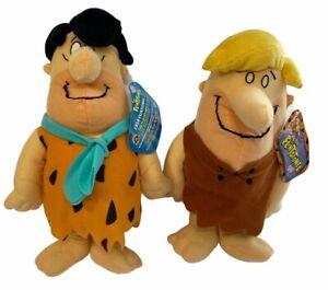 Sugarloaf Fred Flintstone & Barney Rubble NWT Plush NOS pair lot Cartoon 2010