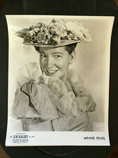 Minnie Pearl, Bruno of Hollywood headshot original vintage press photo #1