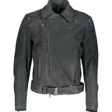 MATCHLESS 'Marlon Brando' Collection Leather Biker Jacket XL Italy New