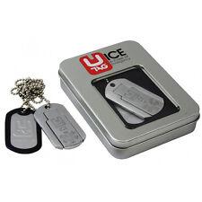 Plaque militaire d'identification USB electronique clé usb bijoux chaine