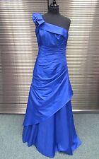 Truebride Blue One Shoulder Prom Bridesmaid Dress Size 14 (171J)