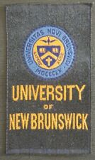 UNIVERSITY of NEW BRUNSWICK Canadian Miscellany 1910 Imperial Tobacco Woven Silk
