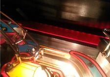 DEMOLITION MAN Pinball Flashing Interactive SHOOTER LANE Light Mod RED