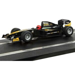 Scalextric START F1 G FORCE RACING Black w/Decals Super-Resistant 1/32 Slot Car