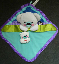 Fisher Price Polar Bear Precious Planet Couette Couverture Couverture Câlin Jouet Peluche
