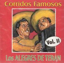 """Los Alegres De Teran """"Corridos Famosos"""" Vol, 2' 100 Anos De Musica Los Alegres d"""